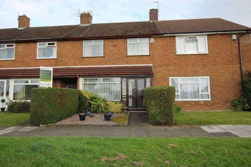 2 Bedrooms Terraced House for sale in Edgehill Road, Moreton, Wirral