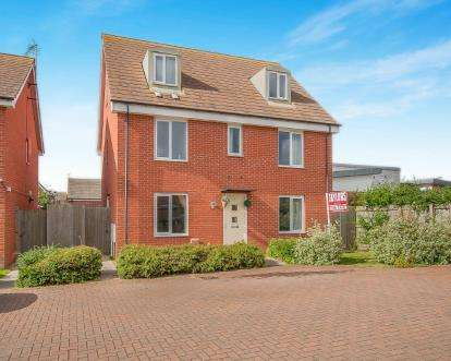 5 Bedrooms Detached House for sale in Winsor Crescent, Hampton Vale, Peterborough, Cambridgeshire