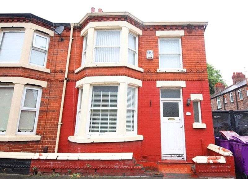 3 Bedrooms Terraced House for sale in Stormont Road, Garston, Liverpool, L19