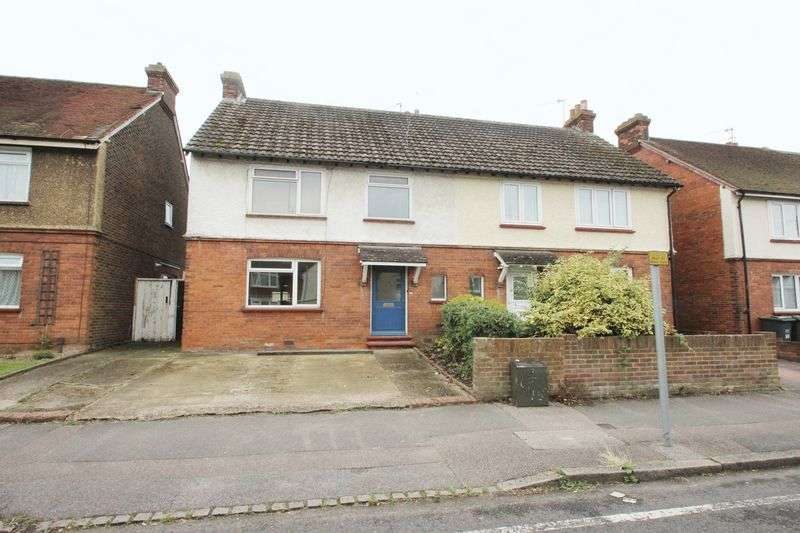 3 Bedrooms Semi Detached House for sale in Hectorage Road, Tonbridge