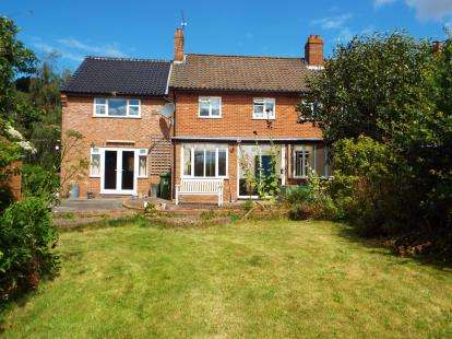 4 Bedrooms Semi Detached House for sale in Itteringham, Norwich, Norfolk