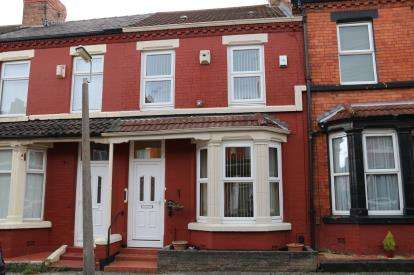 3 Bedrooms Terraced House for sale in Newcastle Road, Liverpool, Merseyside, L15