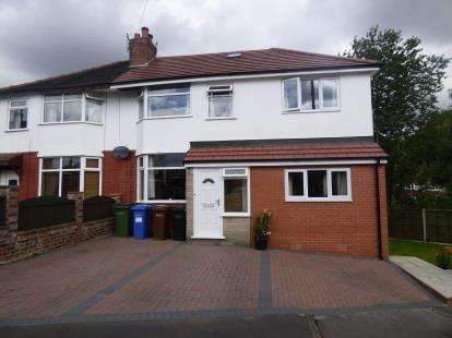 3 Bedrooms Semi Detached House for sale in The Avenue, Bredbury, Stockport, Greater Manchester