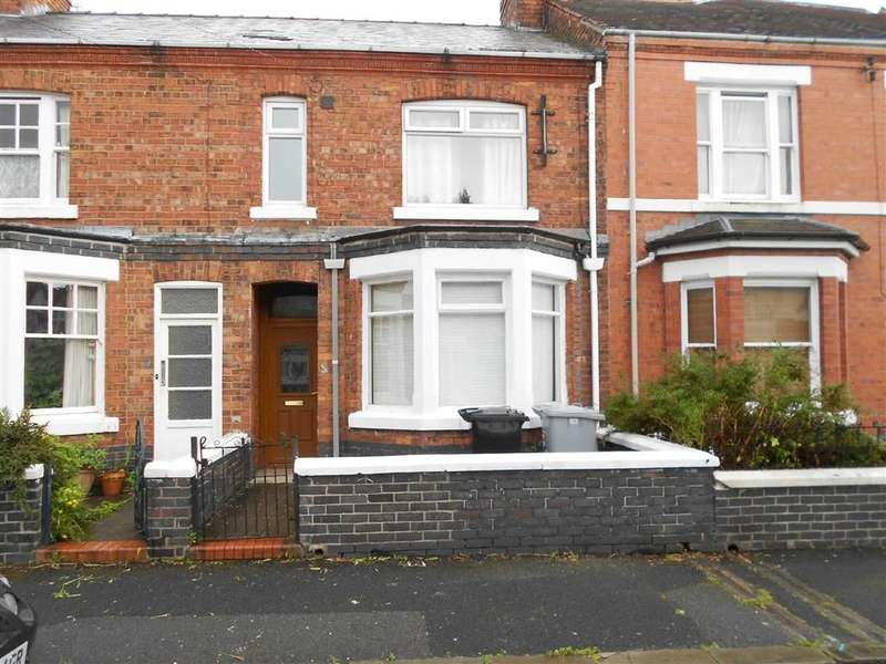 3 Bedrooms Terraced House for sale in Hungerford Terrace, Crewe, Cheshire