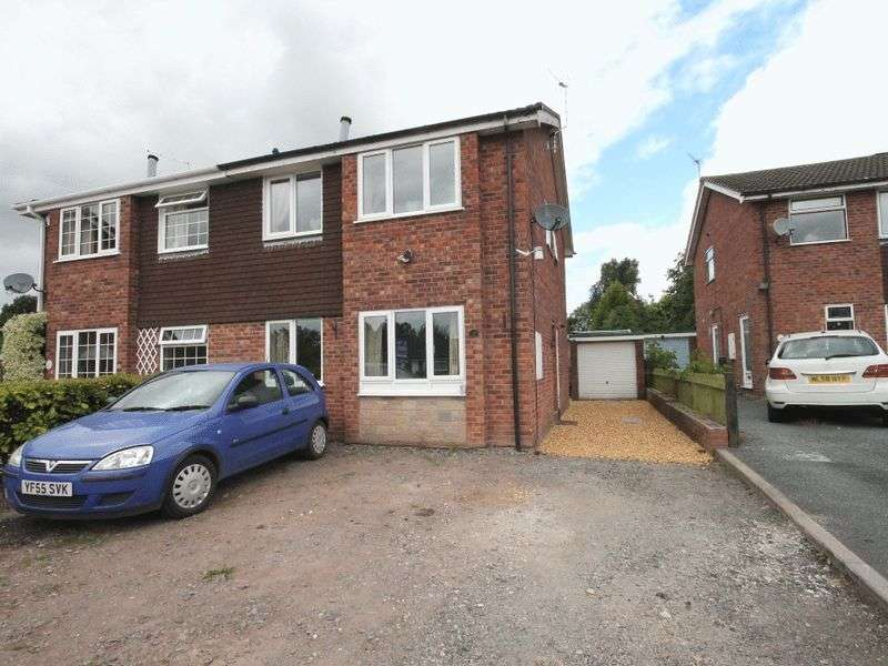 3 Bedrooms Semi Detached House for sale in Longford Turning, Market Drayton