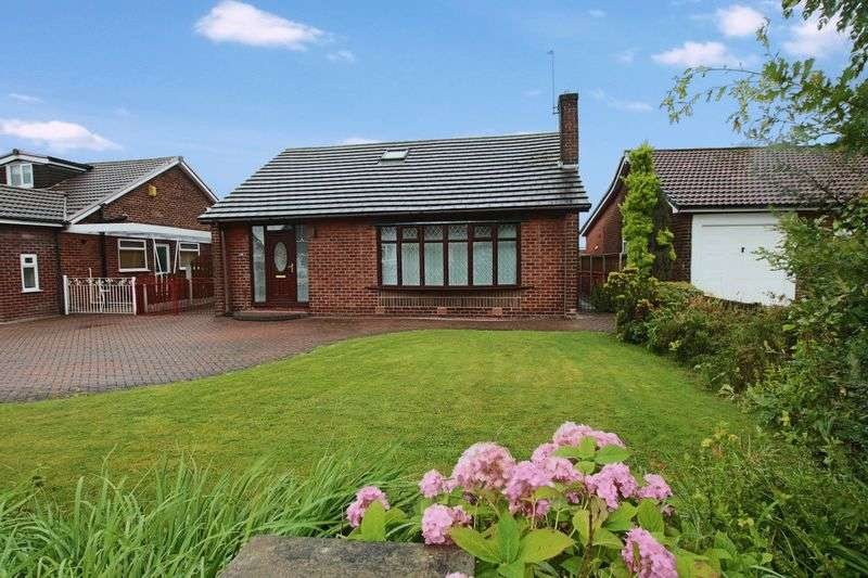 3 Bedrooms Detached Bungalow for sale in Hardfield Road, Alkrinton, Middleton M24 1JA