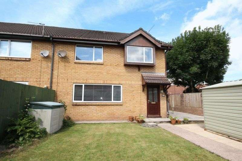 2 Bedrooms Semi Detached House for sale in Fairwood Close, Llandaff