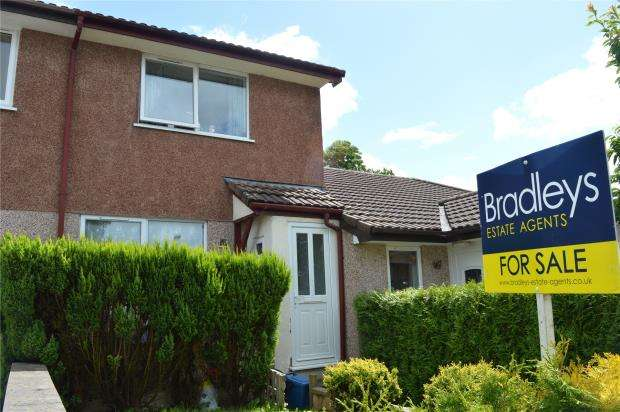 2 Bedrooms End Of Terrace House for sale in Orchard Way, Lapford, Crediton, Devon