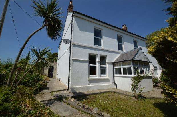 4 Bedrooms Detached House for sale in Rose-an-Grouse, Canonstown, Hayle, Cornwall