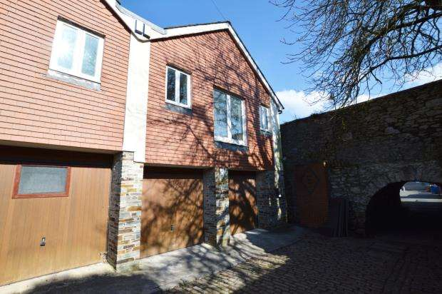 2 Bedrooms Semi Detached House for sale in Slate Lane, Stonehouse, Plymouth, Devon