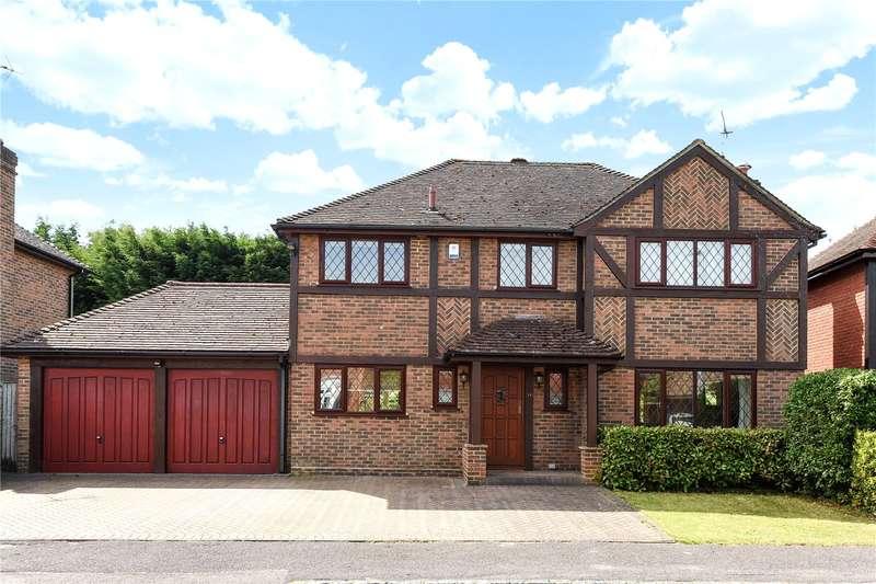 4 Bedrooms Detached House for sale in Fakenham Way, Owlsmoor, Sandhurst, Berkshire, GU47