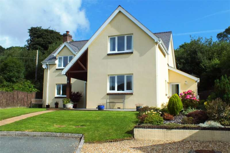 4 Bedrooms Detached House for sale in Clos Yr Ysgol, Stepaside, Narberth