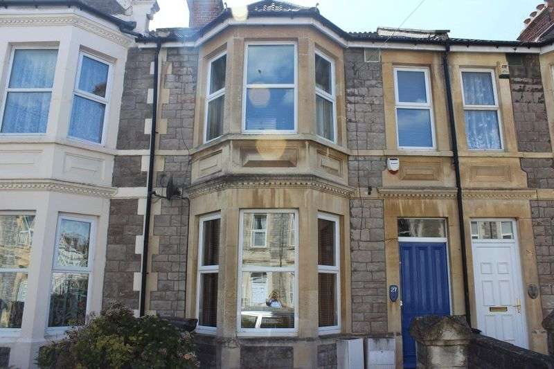 3 Bedrooms Terraced House for sale in Sunnyside Road, Weston-super-Mare