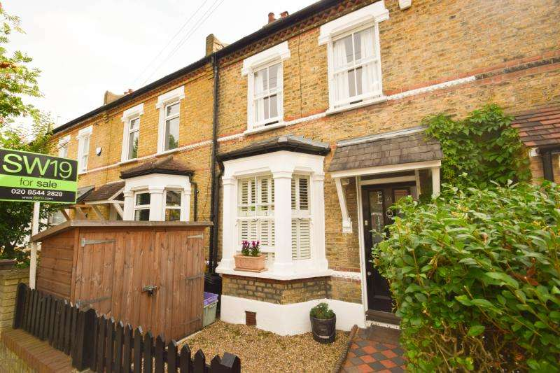2 Bedrooms Terraced House for sale in Hardy Road, Wimbledon, SW19