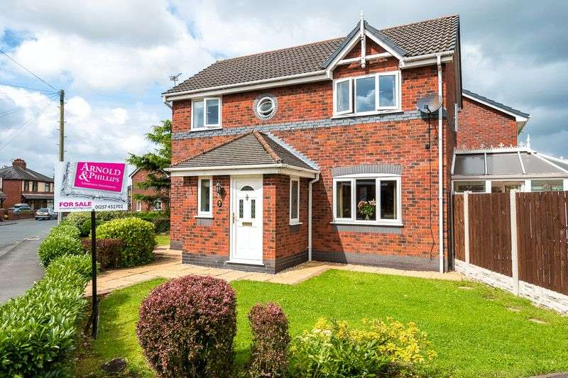 3 Bedrooms Detached House for sale in Sagar Street, Eccleston