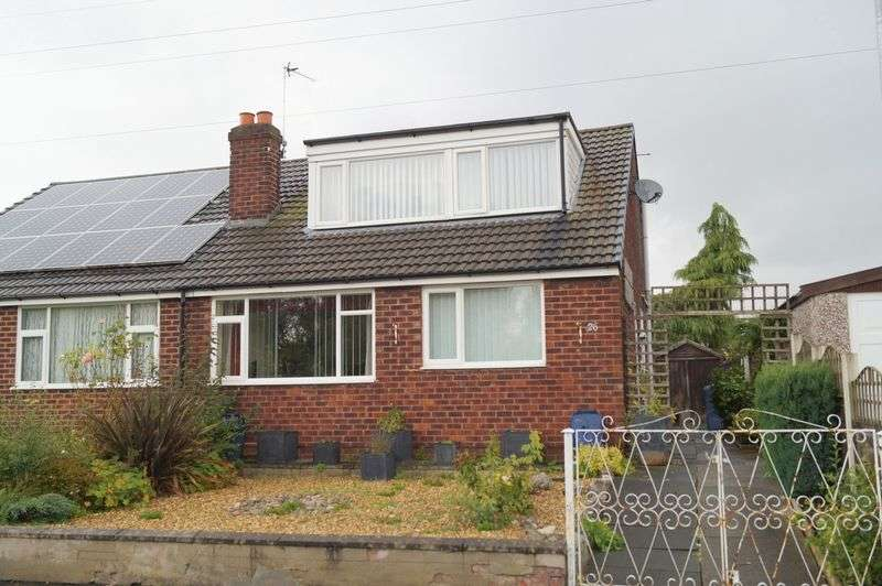 2 Bedrooms Semi Detached House for sale in Cranborne Avenue, Warrington, WA4 6DB