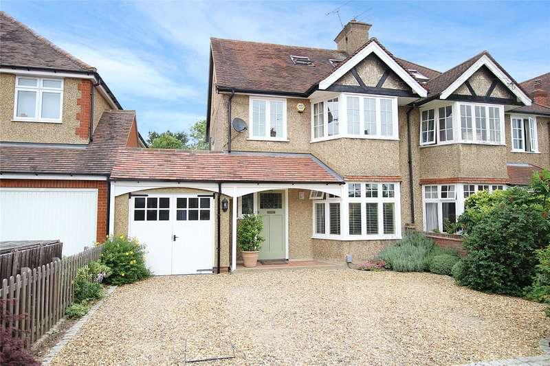 4 Bedrooms Semi Detached House for sale in Brampton Road, St. Albans, Hertfordshire, AL1
