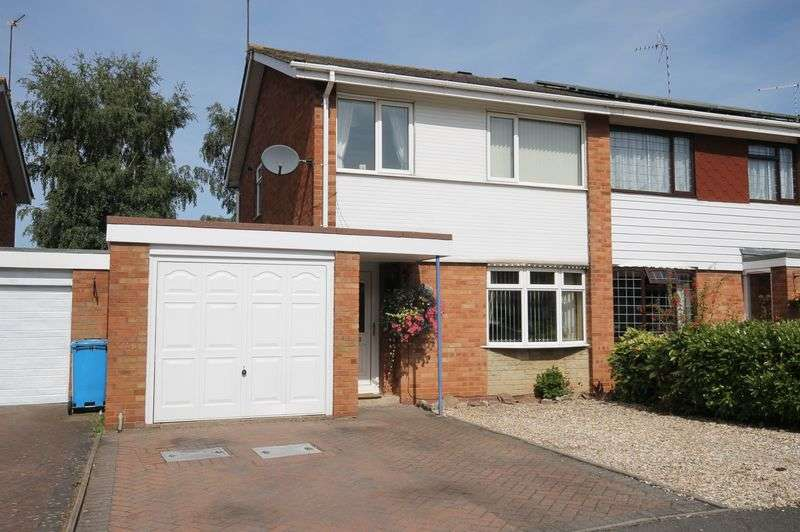 3 Bedrooms Semi Detached House for sale in Wulfric Close, Penkridge