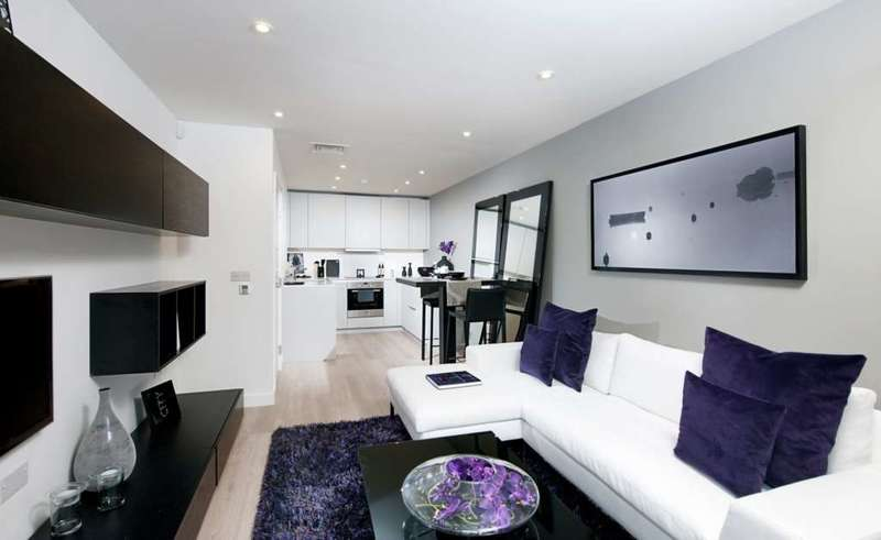 2 Bedrooms Flat for sale in 2 bed block F Saffron Tower, Croydon