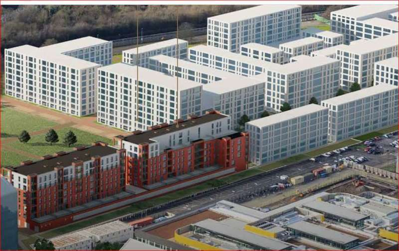 2 Bedrooms Apartment Flat for sale in Reverance Block, Colindale Gardens, NW6