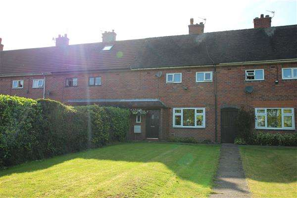 3 Bedrooms Town House for sale in Hall Drive, Weston Coyney, Stoke-on-Trent