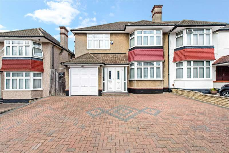 4 Bedrooms Semi Detached House for sale in Jesmond Way, Stanmore, HA7