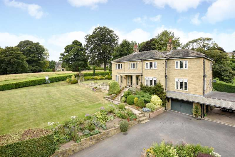 5 Bedrooms Detached House for sale in Acacia Park Drive, Apperley Bridge, Rawdon Border, BD10 0PL