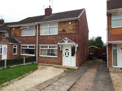 2 Bedrooms Semi Detached House for sale in Bilton Way, Crewe, Cheshire