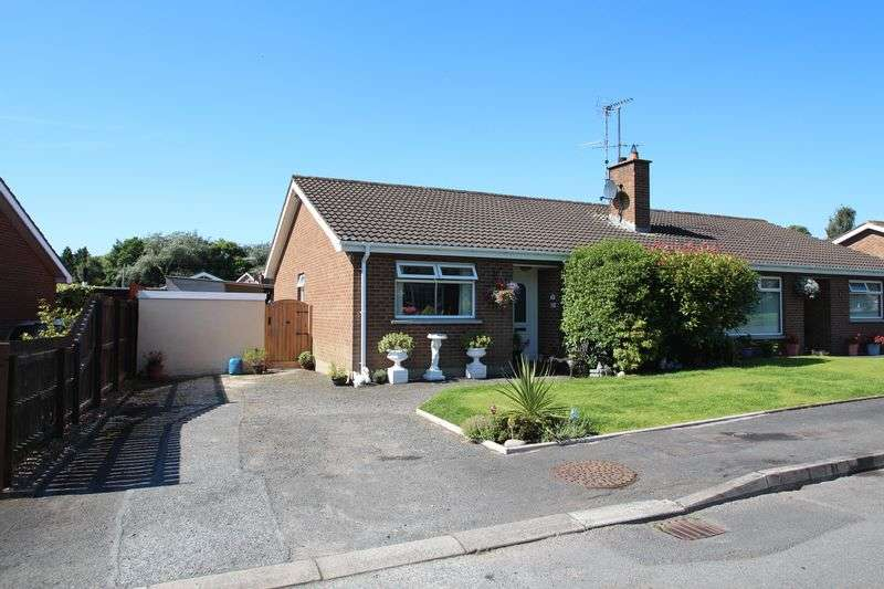3 Bedrooms Semi Detached Bungalow for sale in 7 Pine View Court, Gilford, BT63 6AY