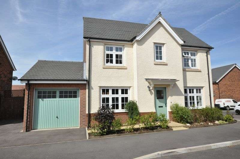 4 Bedrooms Detached House for sale in Henley Grove, Church Gresley, Swadlincote