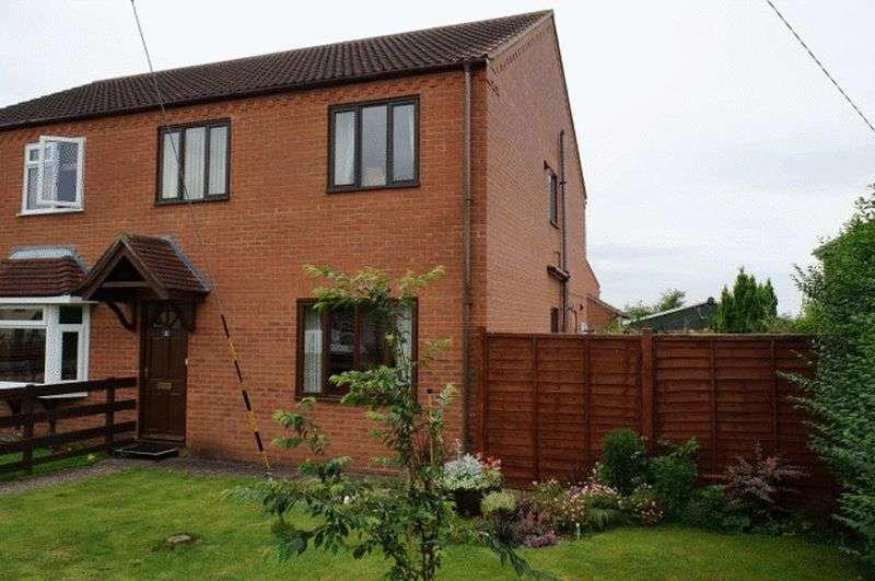 3 Bedrooms Semi Detached House for sale in Roeze Close, Witham Road, Woodhall Spa