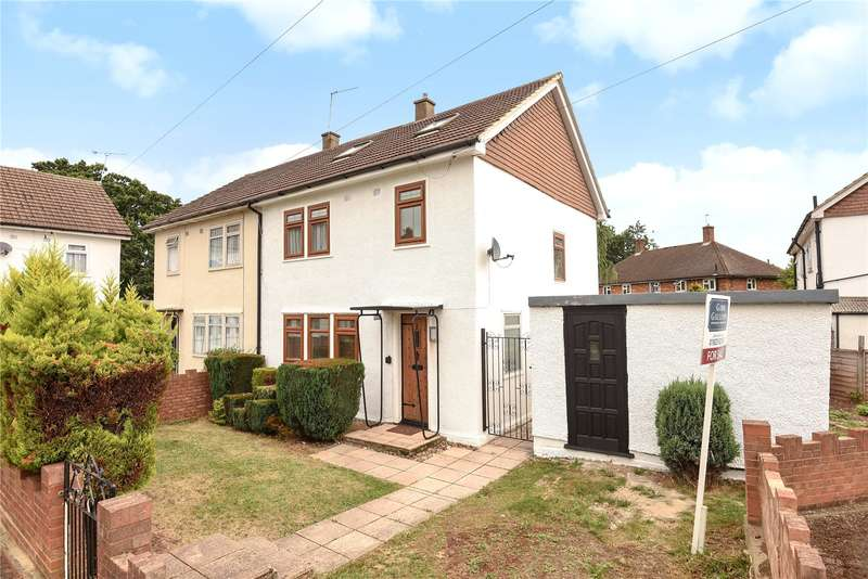 3 Bedrooms Semi Detached House for sale in Belfairs Green, Watford, Hertfordshire, WD19