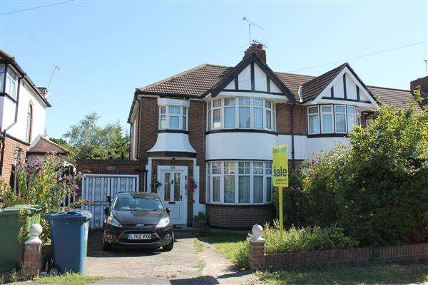 3 Bedrooms End Of Terrace House for sale in Radcliffe Road, Harrow