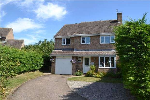 4 Bedrooms Detached House for sale in Saxel Close, Aston, BAMPTON, Oxfordshire, OX18 2EB