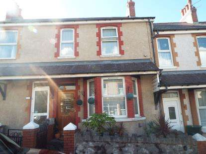 3 Bedrooms Terraced House for sale in Highfield Road, Colwyn Bay, Conwy, LL29