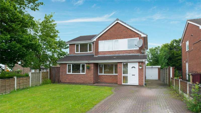 4 Bedrooms Detached House for sale in Marlbrook Drive, Westhoughton, Bolton, Lancashire