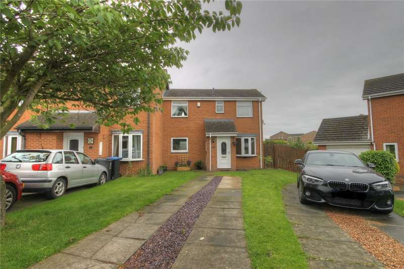 2 Bedrooms Semi Detached House for sale in Croxdale Grove, Bishop Auckland, County Durham, DL14