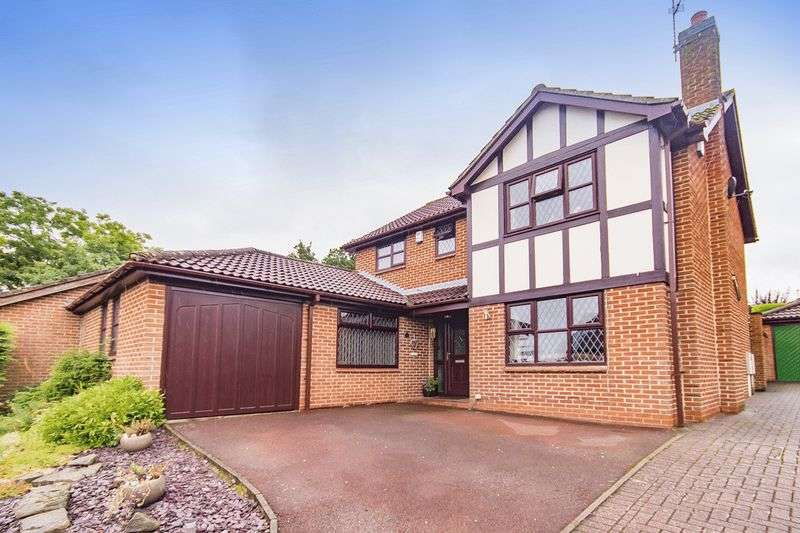 4 Bedrooms Detached House for sale in NETHERWOOD COURT, ALLESTREE