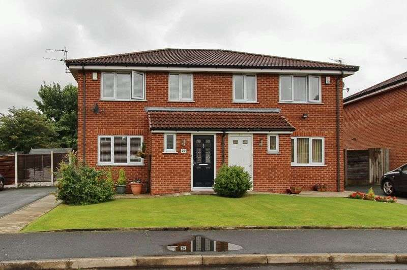 3 Bedrooms Semi Detached House for sale in Rothay Close, Whitefield, Manchester