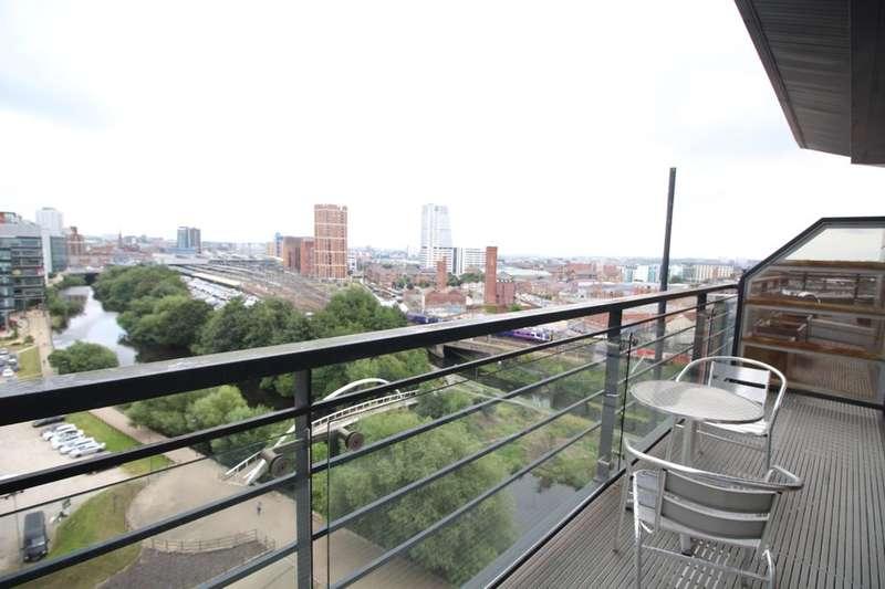 2 Bedrooms Flat for sale in Riverside Way, Leeds, LS1