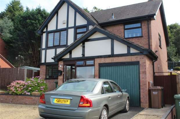 4 Bedrooms Detached House for sale in Hopton Drive, Kidderminster, Worcestershire