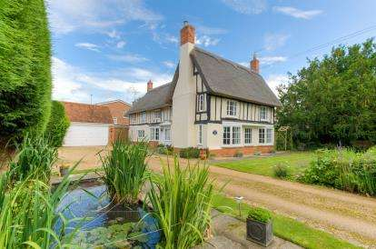 5 Bedrooms Detached House for sale in High Street, Riseley, Bedford, Bedfordshire