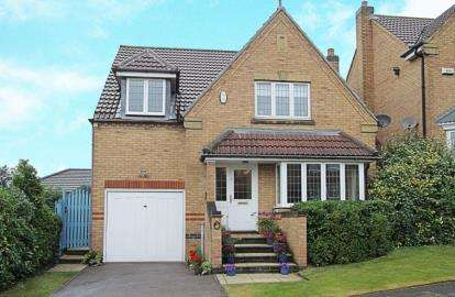 4 Bedrooms Detached House for sale in Heywood View, Barlborough, Chesterfield, Derbyshire