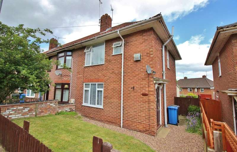 3 Bedrooms Semi Detached House for sale in Jex Road, Norwich