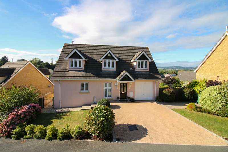 5 Bedrooms Detached House for sale in Sandford View, Newton Abbot