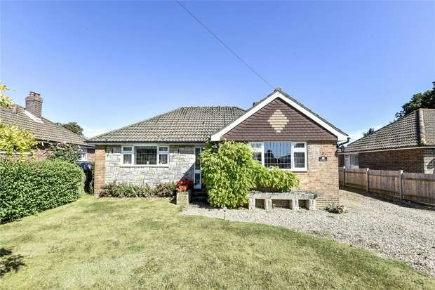 2 Bedrooms Detached Bungalow for sale in South Wonston, Winchester, Hampshire