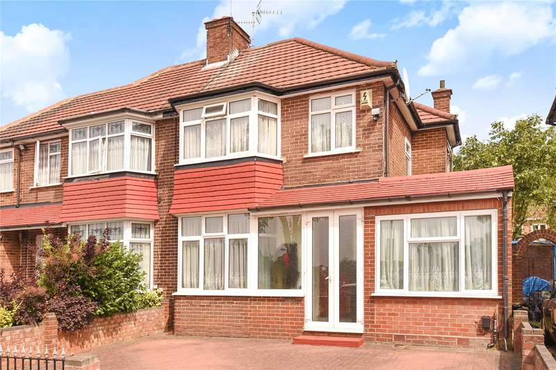 3 Bedrooms Semi Detached House for sale in Burnell Gardens, Stanmore, Middlesex, HA7