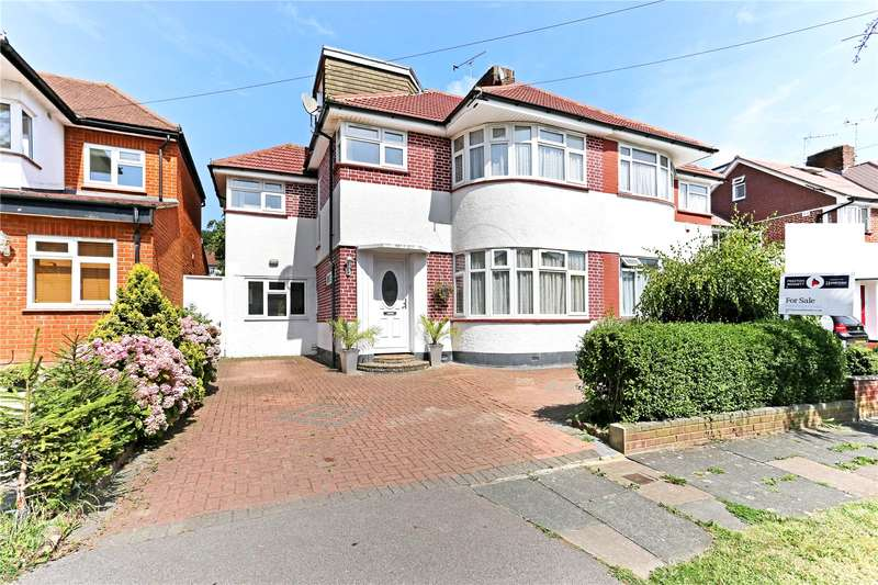 5 Bedrooms Semi Detached House for sale in St. Edmunds Drive, Stanmore, HA7