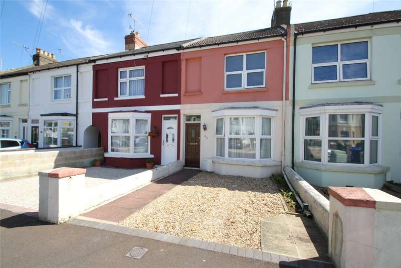 3 Bedrooms Terraced House for sale in The Drive, Worthing, West Sussex, BN11