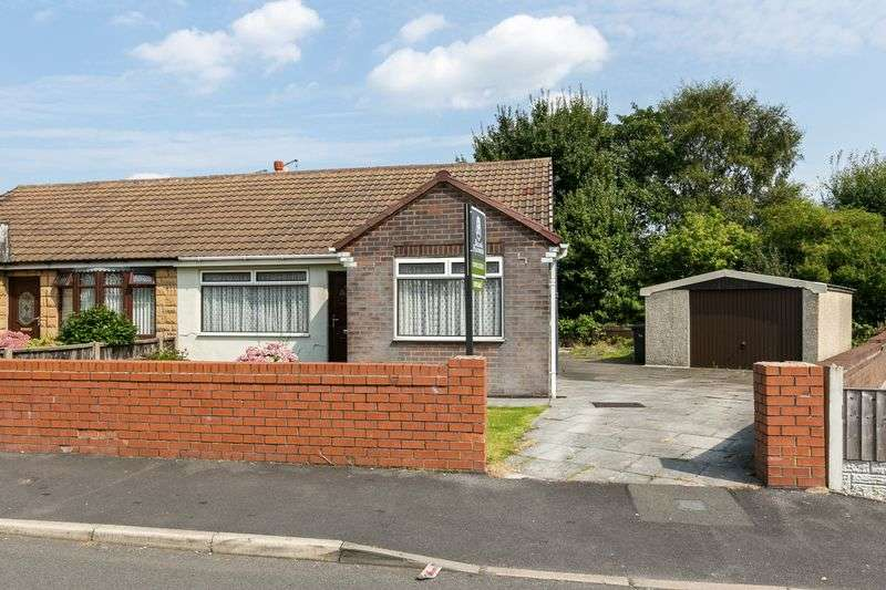 2 Bedrooms Semi Detached Bungalow for sale in Vicarage Road, Abram, WN2 5QN